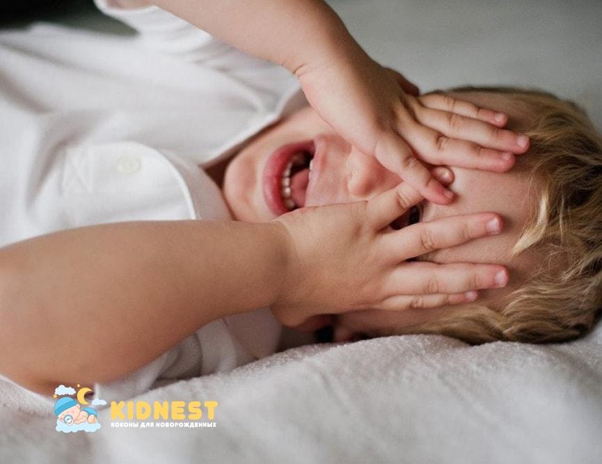 Беспокойный сон ребенка - Коконы новорожденному на заказ с доставкой по РФ