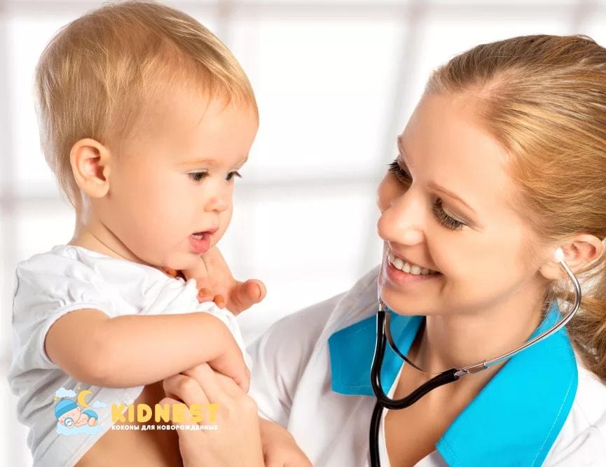Посещение педиатра в первый год жизни ребенка